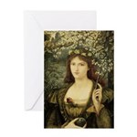 Madonna Pietra Greeting Card