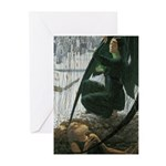 The Grave-Diggers Death Greeting Cards (Pk of 10)