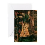 Morgan Le Fay Greeting Card