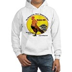 Route 66 Rising Cock Hooded Sweatshirt