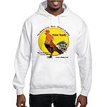 New York Rising Cock Hooded Sweatshirt