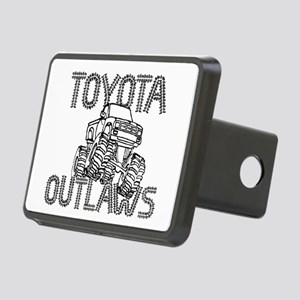 Toyota Outlaws Logo Rectangular Hitch Cover