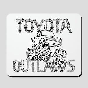Toyota Outlaws Logo Mousepad