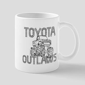 Toyota Outlaws Logo Mug