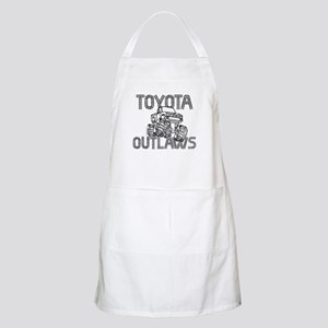 Toyota Outlaws Logo Apron