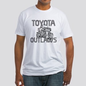 Toyota Outlaws Logo Fitted T-Shirt