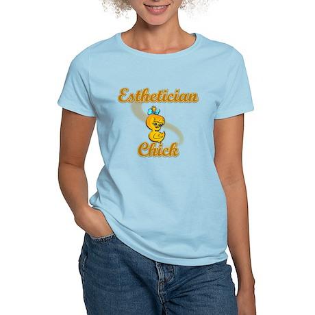 Esthetician Chick #2 Women's Light T-Shirt