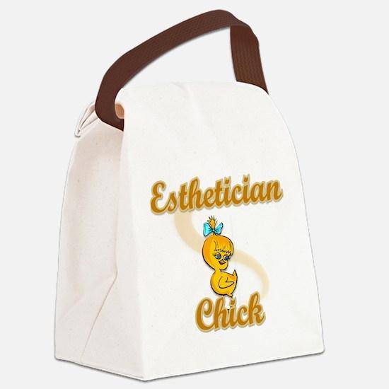 Esthetician Chick #2 Canvas Lunch Bag