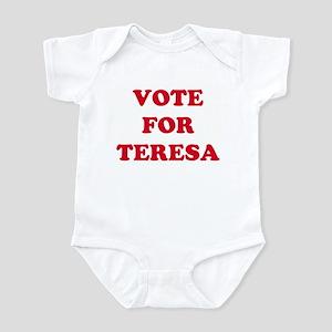 VOTE FOR TERESA Infant Creeper