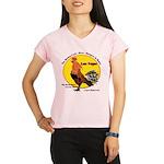 Las Vegas Rising Cock Performance Dry T-Shirt