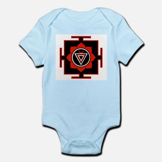 Goddess Kali Yantra Infant Creeper