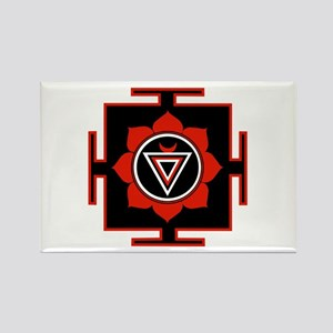 Goddess Kali Yantra Rectangle Magnet