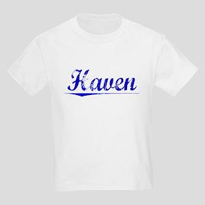 Haven, Blue, Aged Kids Light T-Shirt
