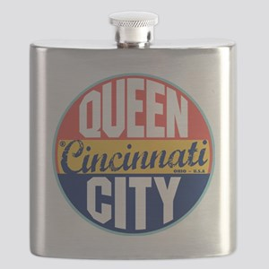 Cincinnati Vintage Label Flask