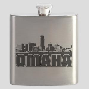 Omaha Skyline Flask