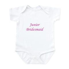 Junior Bridesmaid Infant Creeper