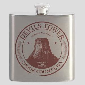 Devils Tower Flask