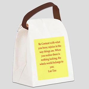 laotzu9 Canvas Lunch Bag