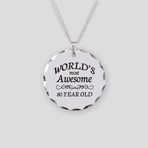 Awesome Birthday Necklace Circle Charm