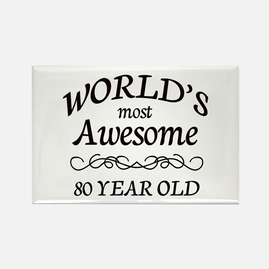 Awesome Birthday Rectangle Magnet (10 pack)