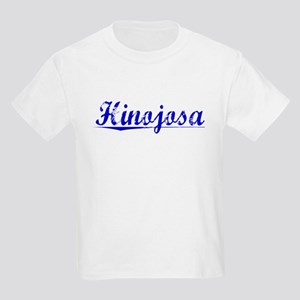 Hinojosa, Blue, Aged Kids Light T-Shirt