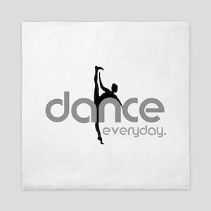 dance everyday Queen Duvet