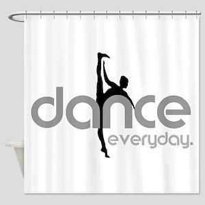 dance everyday Shower Curtain