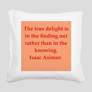 asimov11 Square Canvas Pillow