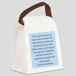 bailey2 Canvas Lunch Bag