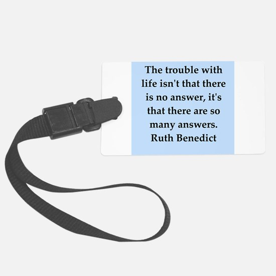 benedict4.png Luggage Tag