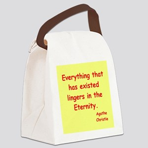 christie2 Canvas Lunch Bag