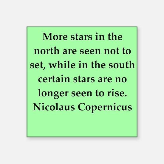 "copernicus10.png Square Sticker 3"" x 3"""