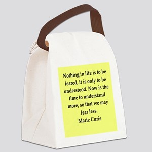 curie7 Canvas Lunch Bag