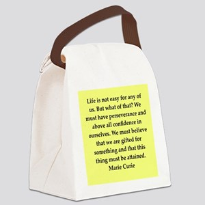 curie11 Canvas Lunch Bag