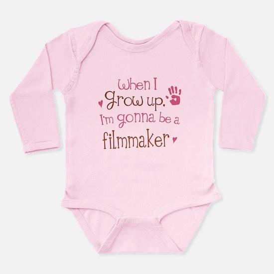 Kids Future Filmmaker Long Sleeve Infant Bodysuit