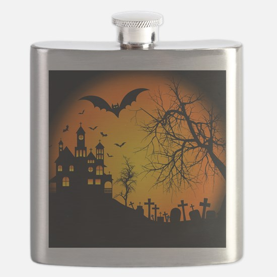HOUSE ON THE HILL Flask