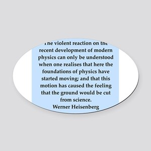 heisenberg5 Oval Car Magnet