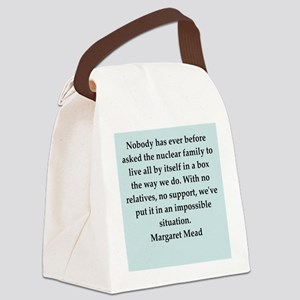 mead3 Canvas Lunch Bag