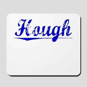 Hough, Blue, Aged Mousepad