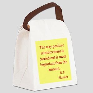skinner2 Canvas Lunch Bag