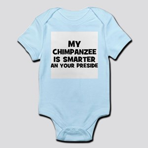 My Chimpanzee Is Smarter Than Infant Creeper