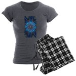 Celtic Blue 8pt Women's Pajama Set