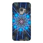 Celtic Blue 8pt Samsung Galaxy S9 Tough Case