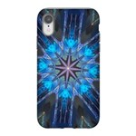 Celtic Blue 8pt iPhone XR Tough Case