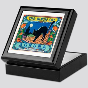 Black Cat Oranges Keepsake Box