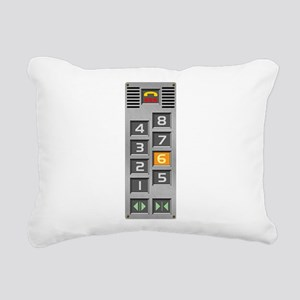 elevator Rectangular Canvas Pillow