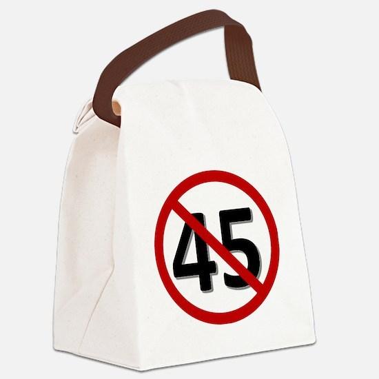 Cute 45 Canvas Lunch Bag