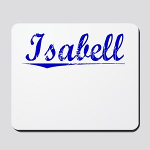 Isabell, Blue, Aged Mousepad