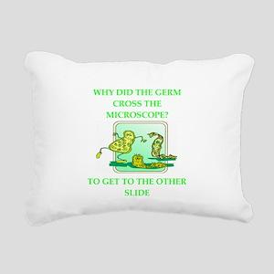 GERM Rectangular Canvas Pillow
