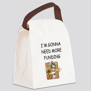 biology Canvas Lunch Bag